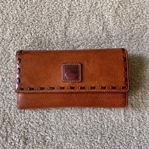 Dooney and Bourke Florentine Leather Clutch